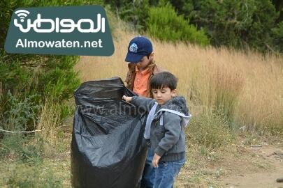 انطلاق حملة سياحة نقية لبيئة امنة بعسير (22)