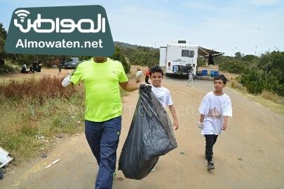 انطلاق حملة سياحة نقية لبيئة امنة بعسير (26)