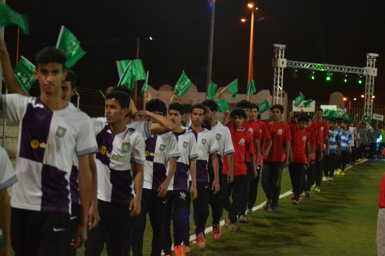 انطلاق دوري رابطة فرق الاحياء لكرة القدم باضم (10)