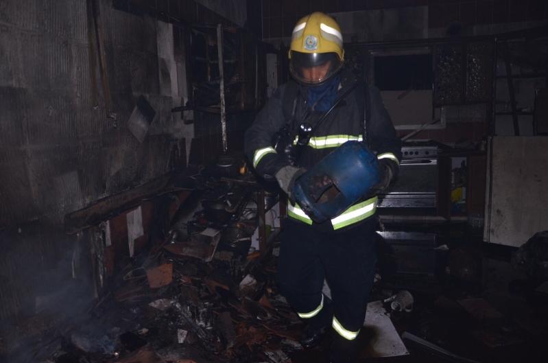 انفجار أسطوانة غاز داخل منزل وإصابة اثنين في #الجوف