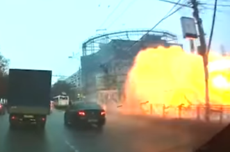 شاهد.. لحظة انفجار اسطوانة غاز بمحطة مترو الأنفاق بموسكو - المواطن