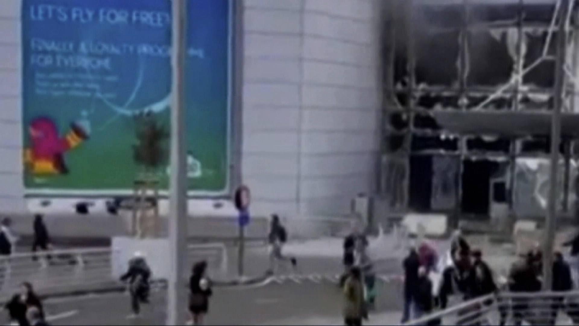 انفجار بمطار بروكسل بلجيكا (2)