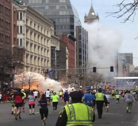 انفجار بوسطن