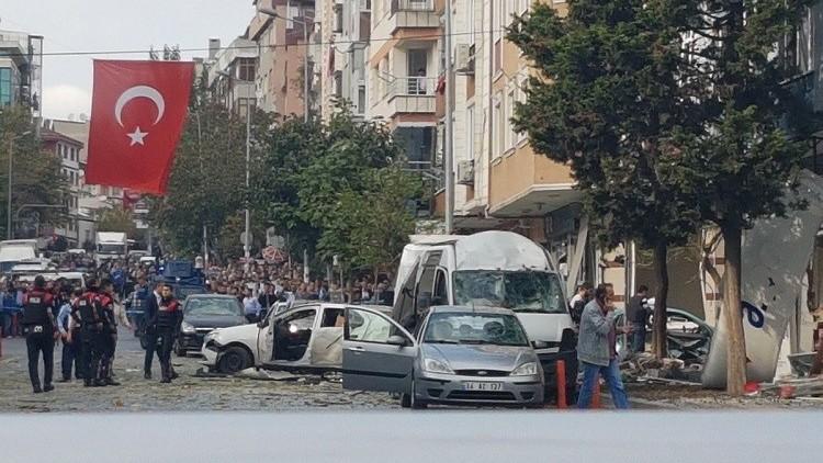 انفجار تركيا