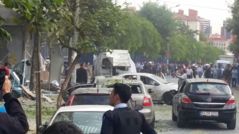 انفجار تركيا2