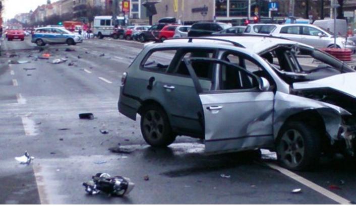 انفجار سيارة في بريلن