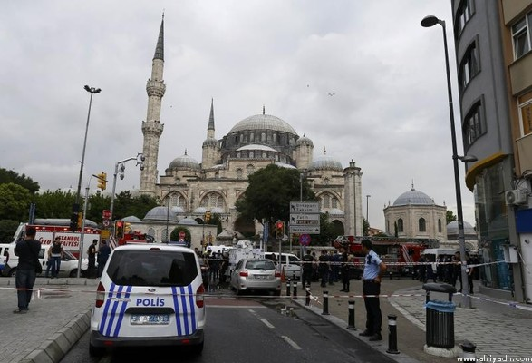انفجار سيارة مفخخة بتركيا