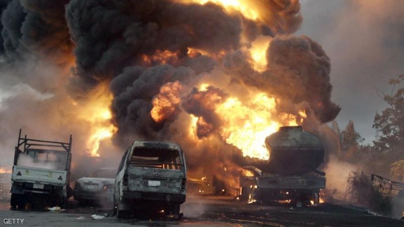 انفجار شاحنة موزنبيق