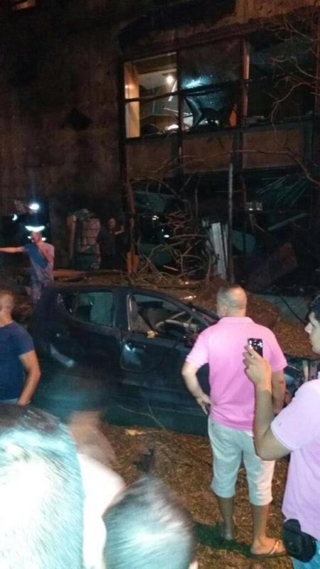 انفجار ضخم يُهِز العاصمة اللبنانية بيروت (289599005) 