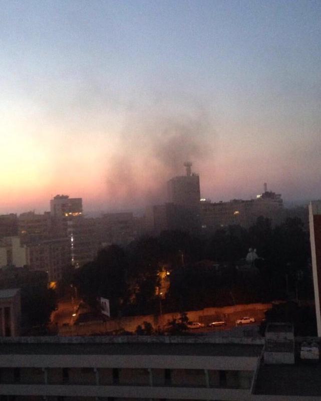 انفجار ضخم يُهِز العاصمة اللبنانية بيروت (289599007) 