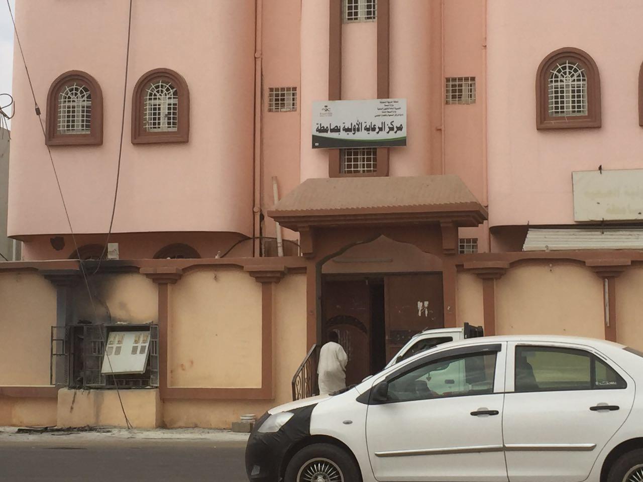 انفجار عداد يخلي مركز صحي بـصامطة (4)