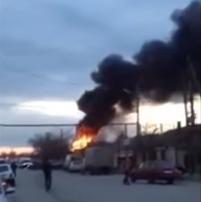 انفجار غاز