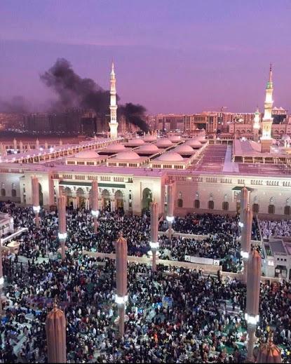 انفجار في الحرم النبوي