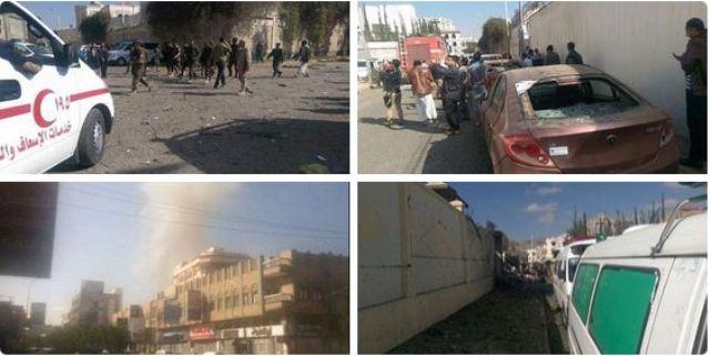 انفجار في مزل السفير الايراني