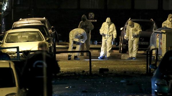 انفجار قنبلة في العاصمة اليونانية #أثينا