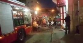 فيديو مروع.. لحظة انفجار أسطوانة غاز بأحد رجال الإطفاء - المواطن