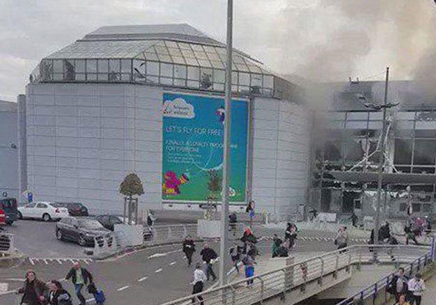انفجار مترو ببروكسل
