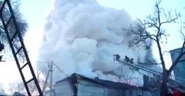 انفجار مصنع العاب نارية في روسيا