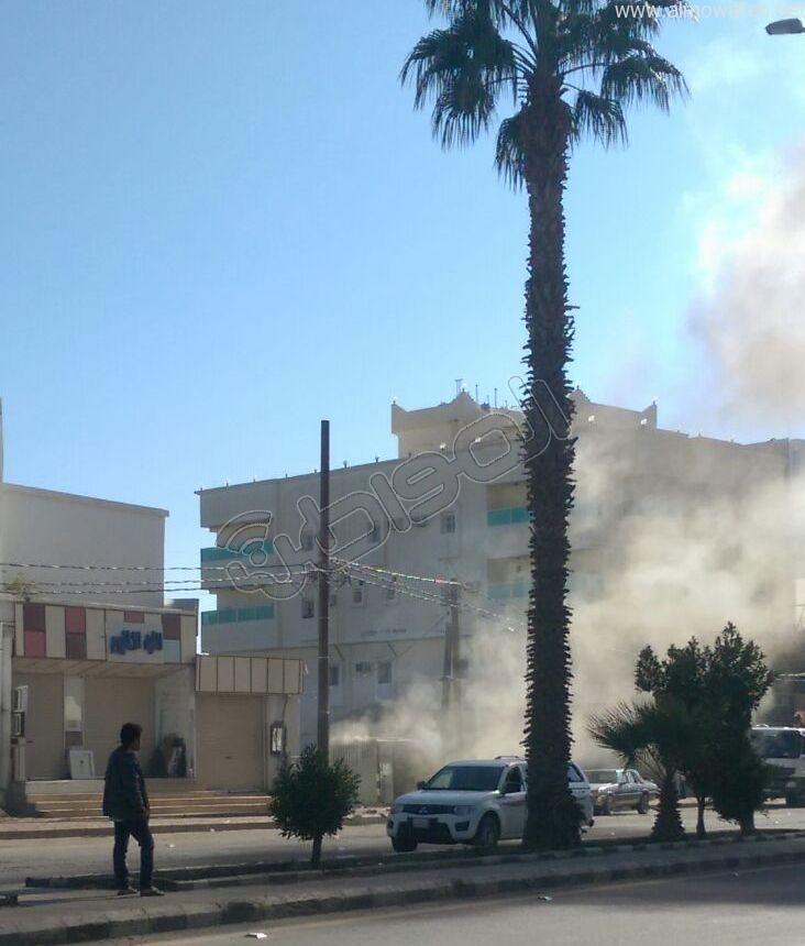 انفجار مولد يحرق عاملين ببلجرشي (2)