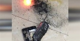 انفجار هاتف 8