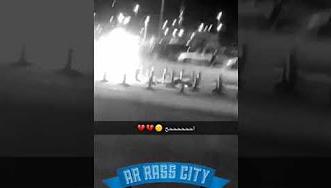 شاهد.. لحظة وفاة رجل انفجرت ألعاب نارية في وجهه بالعيد - المواطن