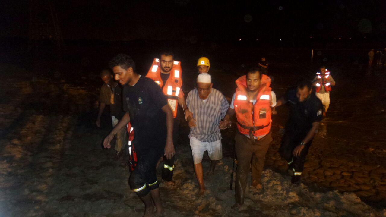 انقاذ عائلة محتجزة بـالريان (1)