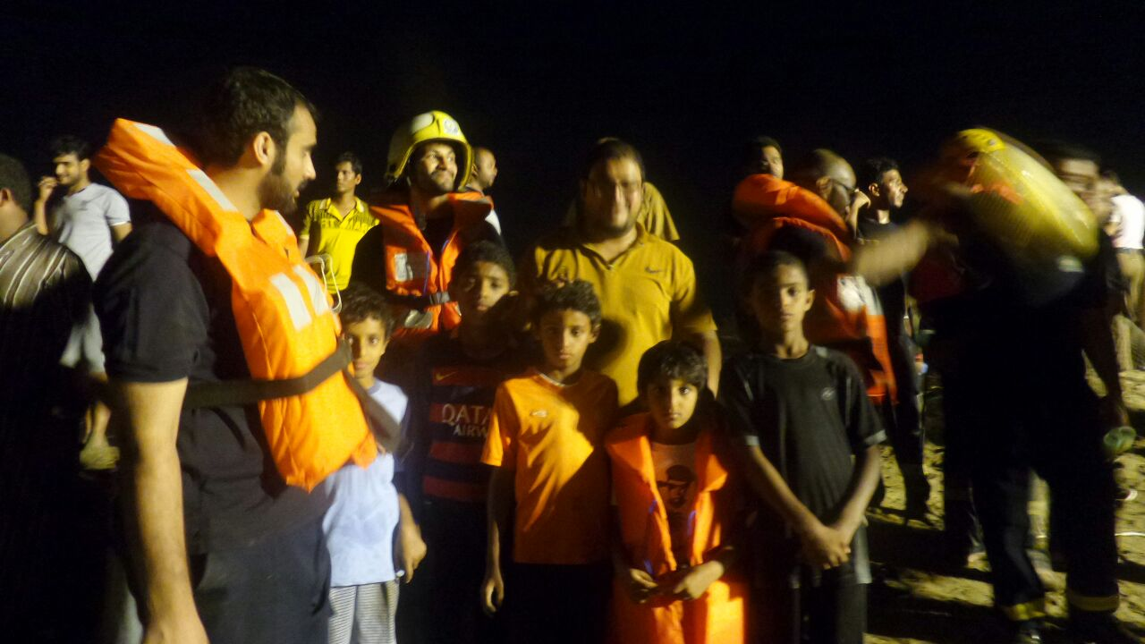 انقاذ عائلة محتجزة بـالريان (2)