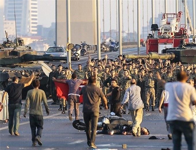 انقلاب تركيا نقرة