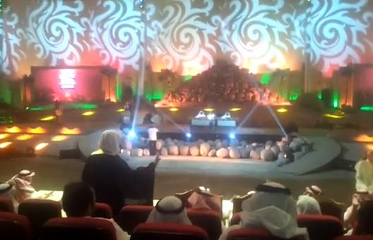 انكار الشيخ عبدالله عسيري في سوق عكاظ
