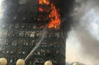 انهيار مبنى ايران1