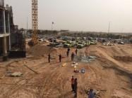 وفاة و10 إصابات في حادث انهيار مبنى جامعة القصيم