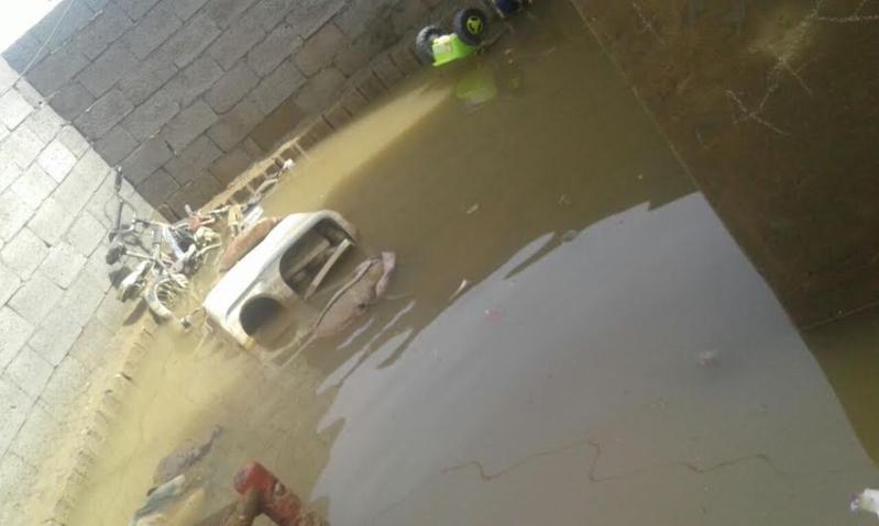 انهيار منزل أسرة وتشتيها أفرادها في السلامة في السلامة السفلى بسبب الأمطار   3