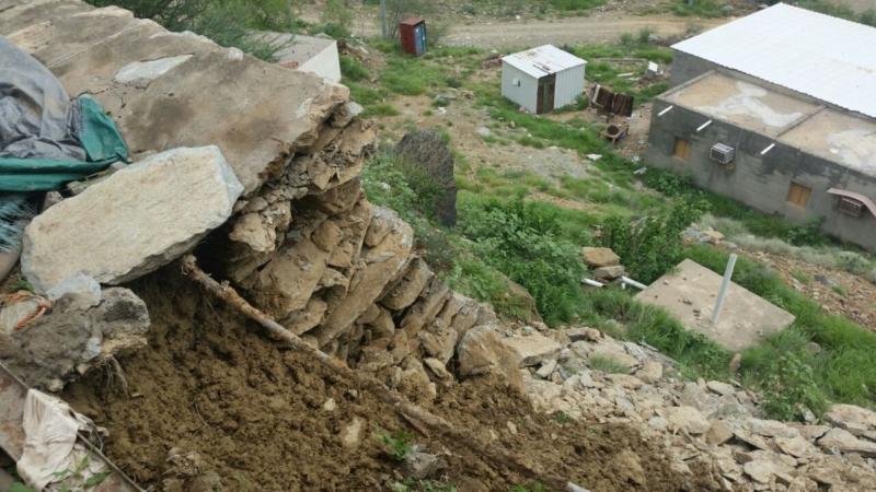 انهيار منزل بهروب2
