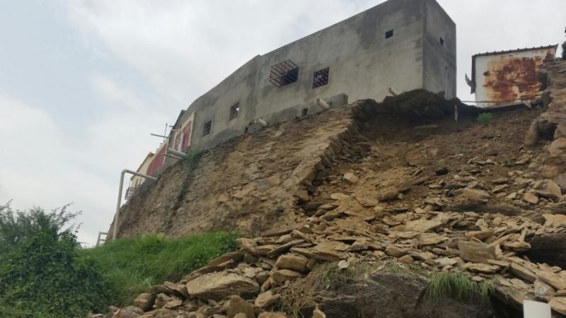 انهيار منزل بهروب3