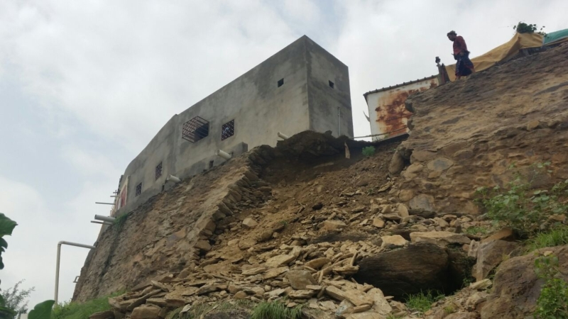 انهيار منزل بهروب6