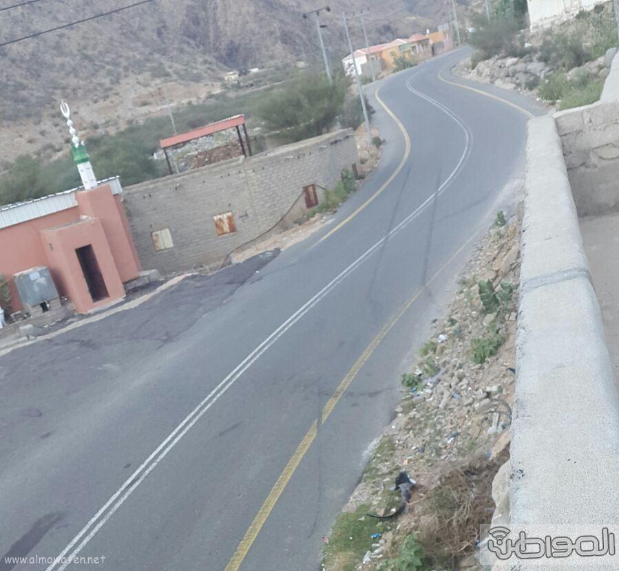 اهالي المرقبان يطالبون بعمل مطب باحد التقاطعات للحد من الحوادث (2)