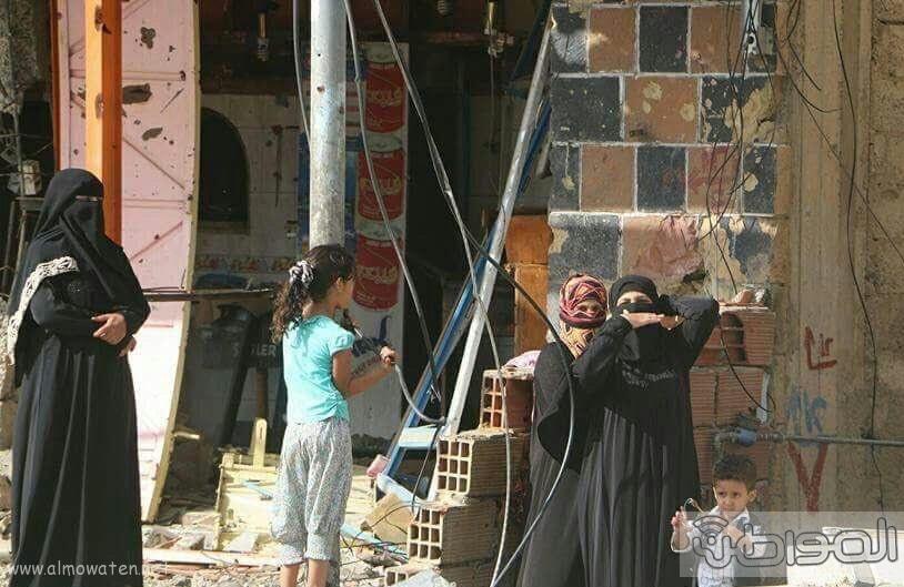 اهالي تعز يحتفون بتحرير مدينتهم (1)