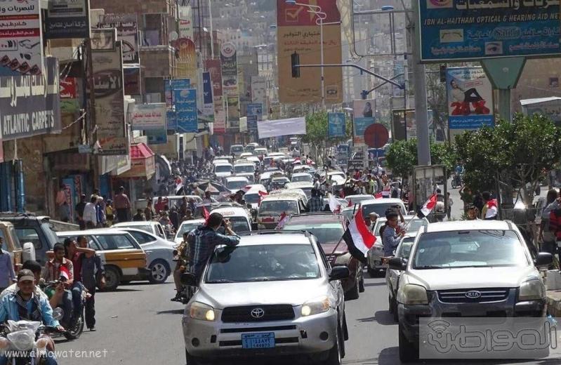 اهالي تعز يحتفون بتحرير مدينتهم (4)