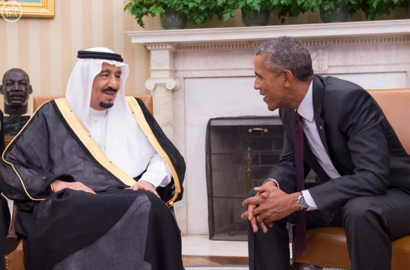 اوباما-يستقبل-خادم الحرمين (5)