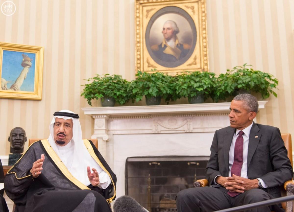 """#الملك_سلمان لأوباما : الشراكة الاستراتيجية للقرن الـ """"21"""" ستسهم في تعميق علاقاتنا - المواطن"""