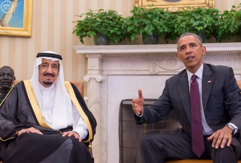 اوباما-يستقبل-خادم الحرمين