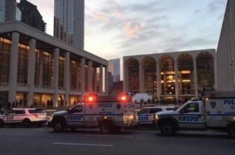 مسحوق أبيض مجهول يُخلي قاعة أوبرا في نيويورك - المواطن
