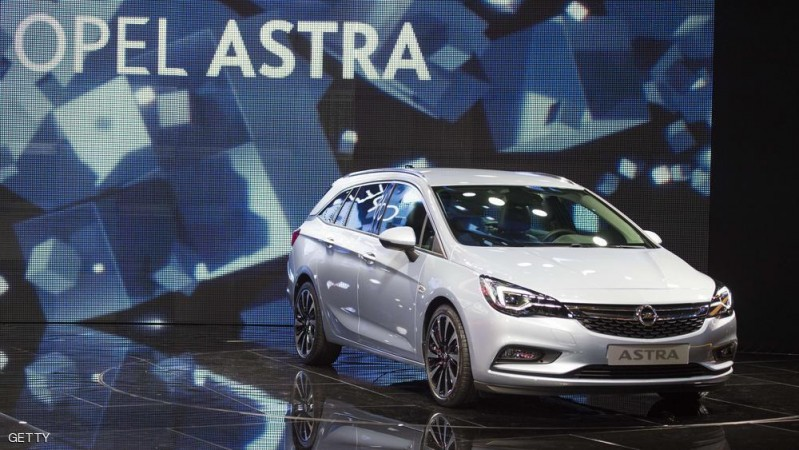The new Opel Astra is displayed at the 66th IAA auto show in Frankfurt am Main, western Germany, on September 15, 2015. Hundreds of thousands of visitors are expected to crowd into the massive exhibition halls of Frankfurt's sprawling trade fair grounds from September 19-27 to catch a glimpse of the latest models and high tech innovations.   AFP PHOTO / ODD ANDERSEN        (Photo credit should read ODD ANDERSEN/AFP/Getty Images)