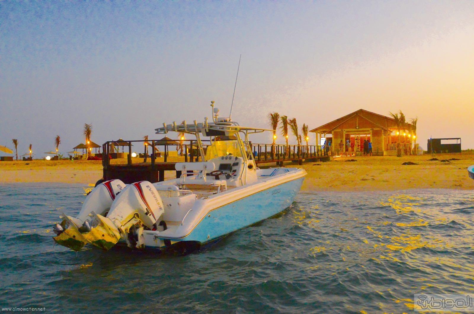 اول جزيرة يتم تهيئتها للسياحة بالمملكة (17)