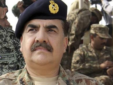 قائد الجيش الباكستاني الفريق أول ركن رحيل شريف