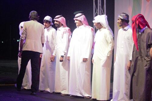 بالصور# استعراض بحري وفعاليات شبابية في سابع ليالي كلنا الخفجي (11)