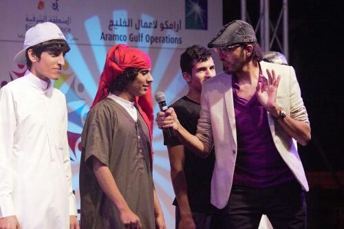 بالصور# استعراض بحري وفعاليات شبابية في سابع ليالي كلنا الخفجي (12)