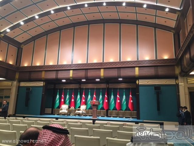 بالصور .. استعدادات لاستقبال الملك سلمان في القصر الرئاسي التركي في أنقرة (5)