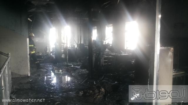 بالصور.. من موقع #حريق_مستشفى_جازان_العام كارثة (1)