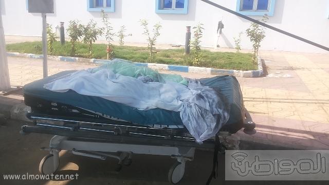 بالصور.. من موقع #حريق_مستشفى_جازان_العام كارثة (13)